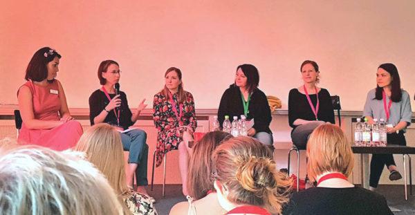 Verlagsmitarbeiter von Amazon Publishing, Dtv, Thienemann-Esslinger, Amy Baxter (Moderatorin & Autorin), be und Lyx