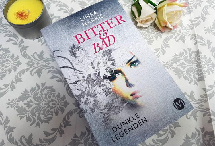 Taffe Urban Fantasy mit einem Halbdämon – Bitter & Bad Dunkle Legenden von Linea Harris