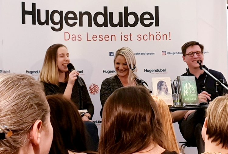 Lesung mit Ava Reed & Stefanie Hasse
