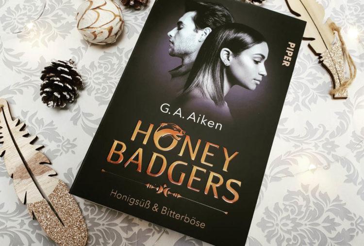 Honey Badgers Honigsüß & Bitterböse von G.A. Aiken