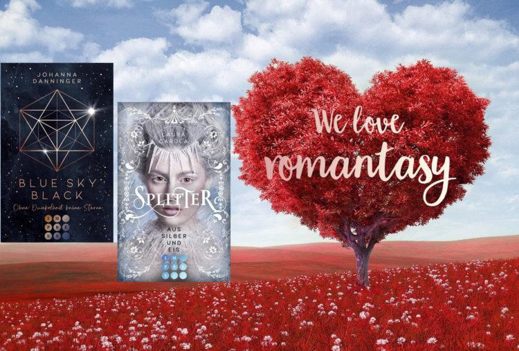 We love romantasy-Tour zu Blue Sky Black und Splitter aus Silber und Eis