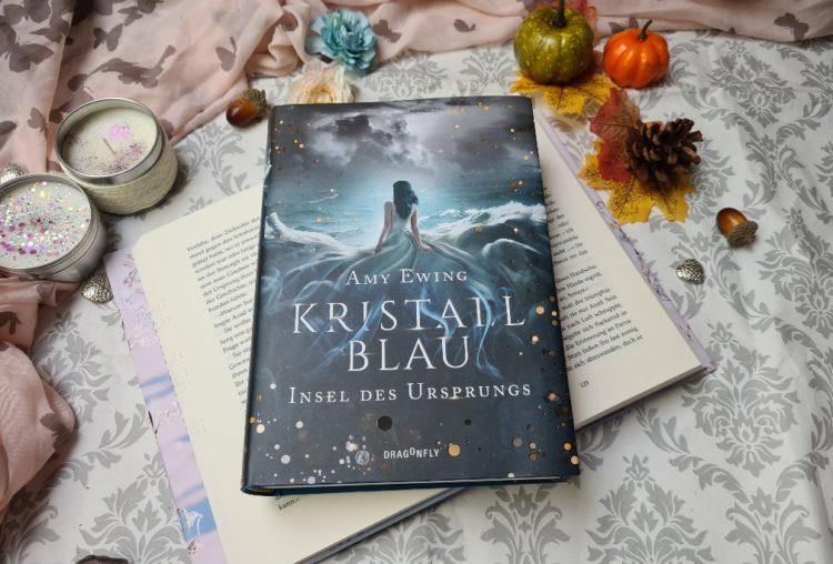Kristallblau Insel des Ursprungs von Amy Ewing